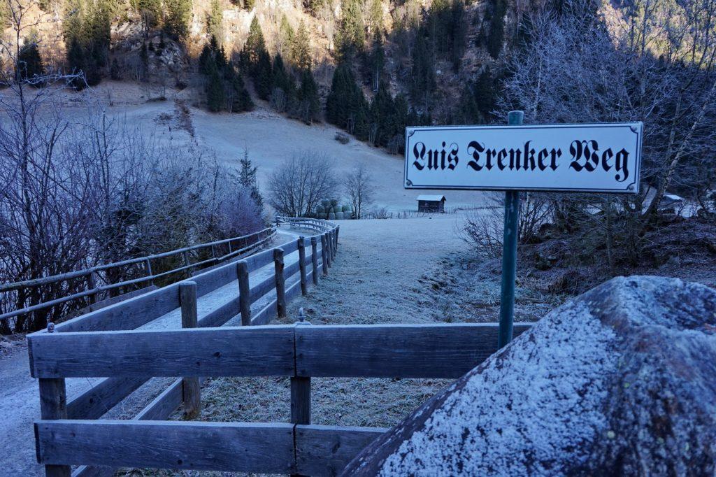 Wandern im Gasteinertal - entlang der Himmelwand nach Prossau