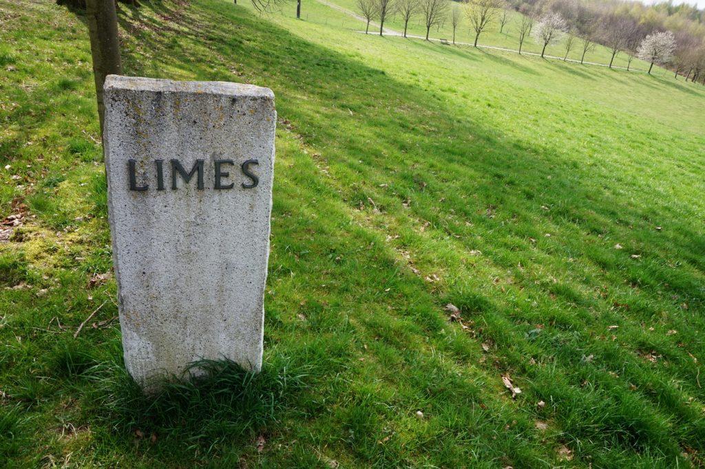 Hier zog sich einst der römische Limes entlang