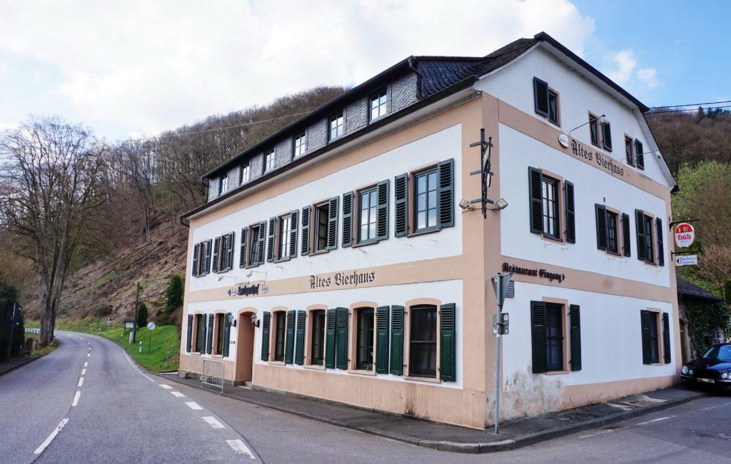 Das Hotel und Restaurant Altes Brauhaus ist ideal für eine Wanderpause