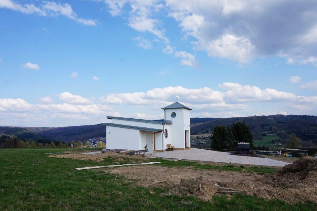 Die St. Barbara Kapelle in Eitelborn ist neu