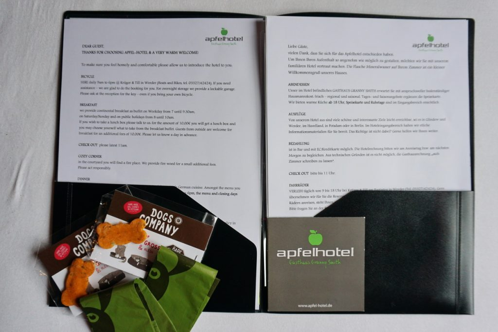 Persönlich getestet - das Apfelhotel im Havelland