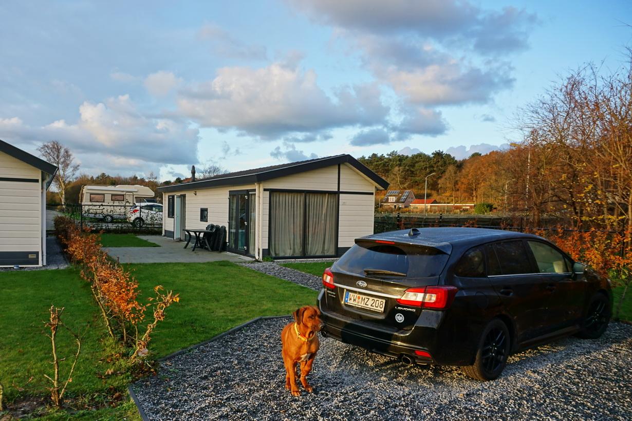 In Noordwijk haben Dayo, Suri und ich in einem Topparken Ferienhaus übernachtet