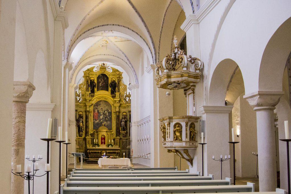 Prunkvolle Kirche