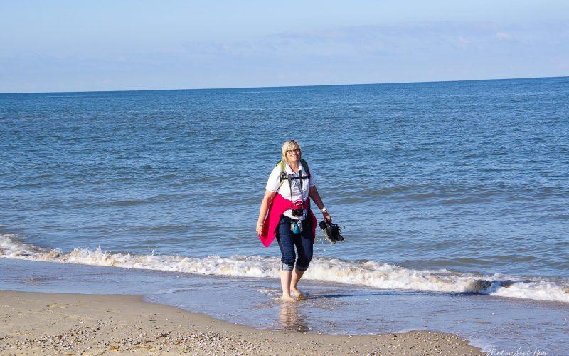 Das Wasser war herrlich warm