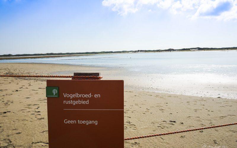 De Slufter ist Teil des Nationalparks Texelsche Dünen