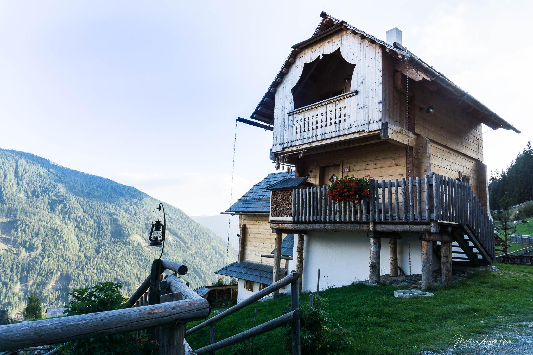 Den Häusern im neuen Teil fehlt noch etwas die romantische Patina vergangener Jahre