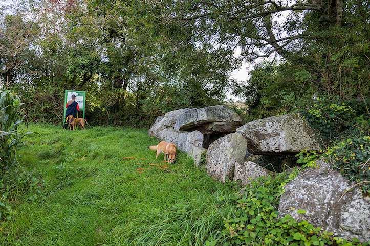 Endlich haben wir die Megalithen gefunden
