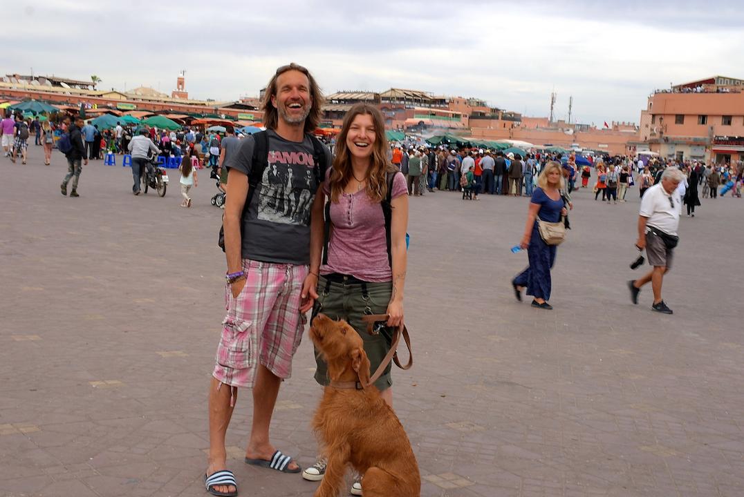 Carolin und János - im Kastenwagen durch Europa