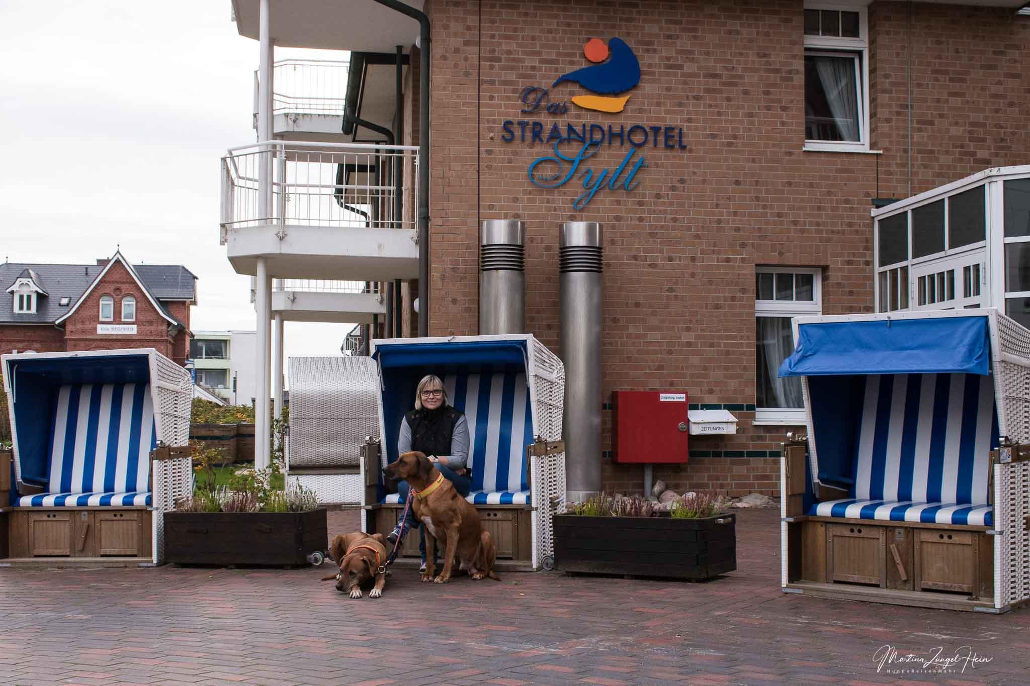 Das Strandhotel Sylt in Westerland - Hunde herzlich willkommen