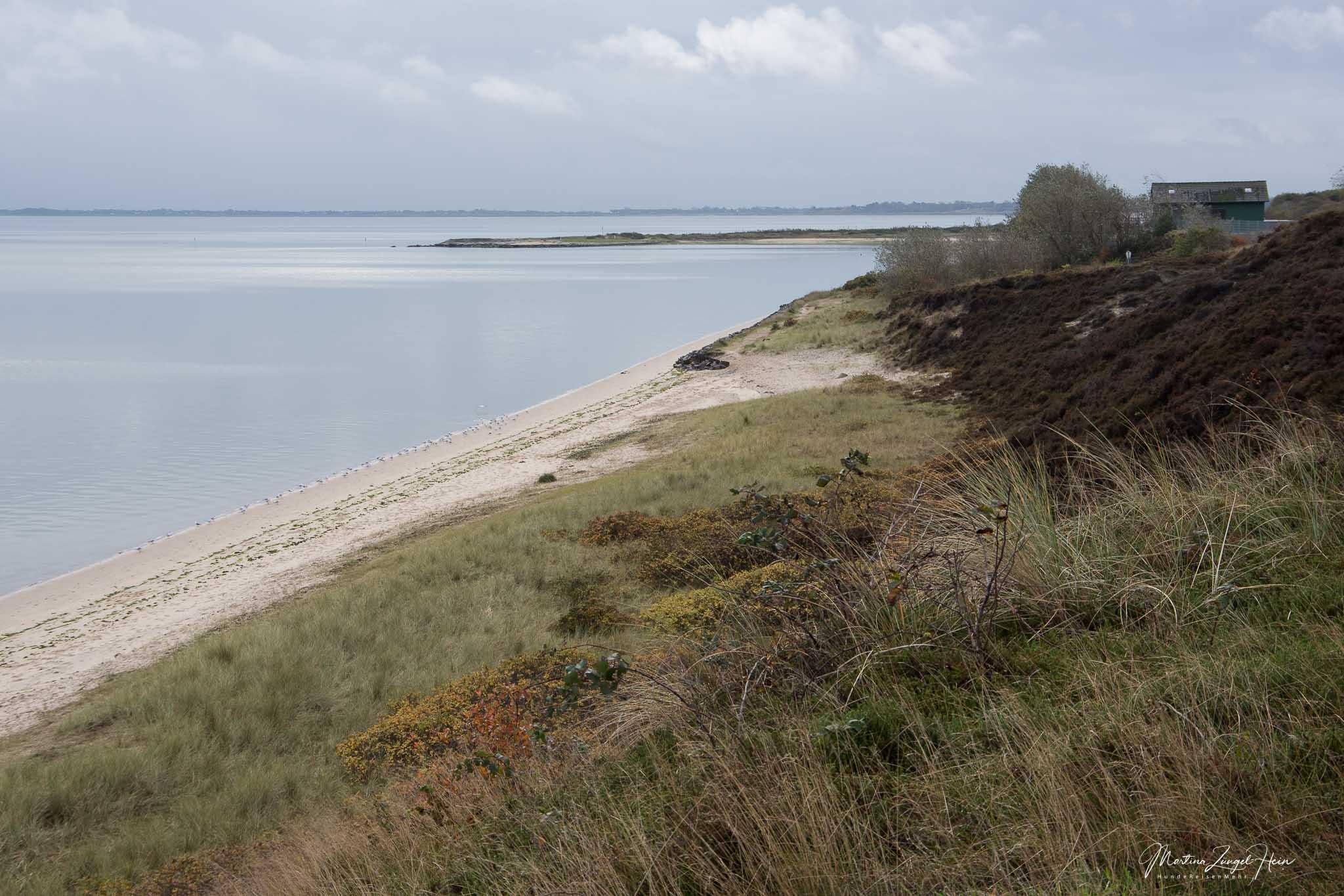 Von der Braderuper Heide kannst du bis zum Festland schauen