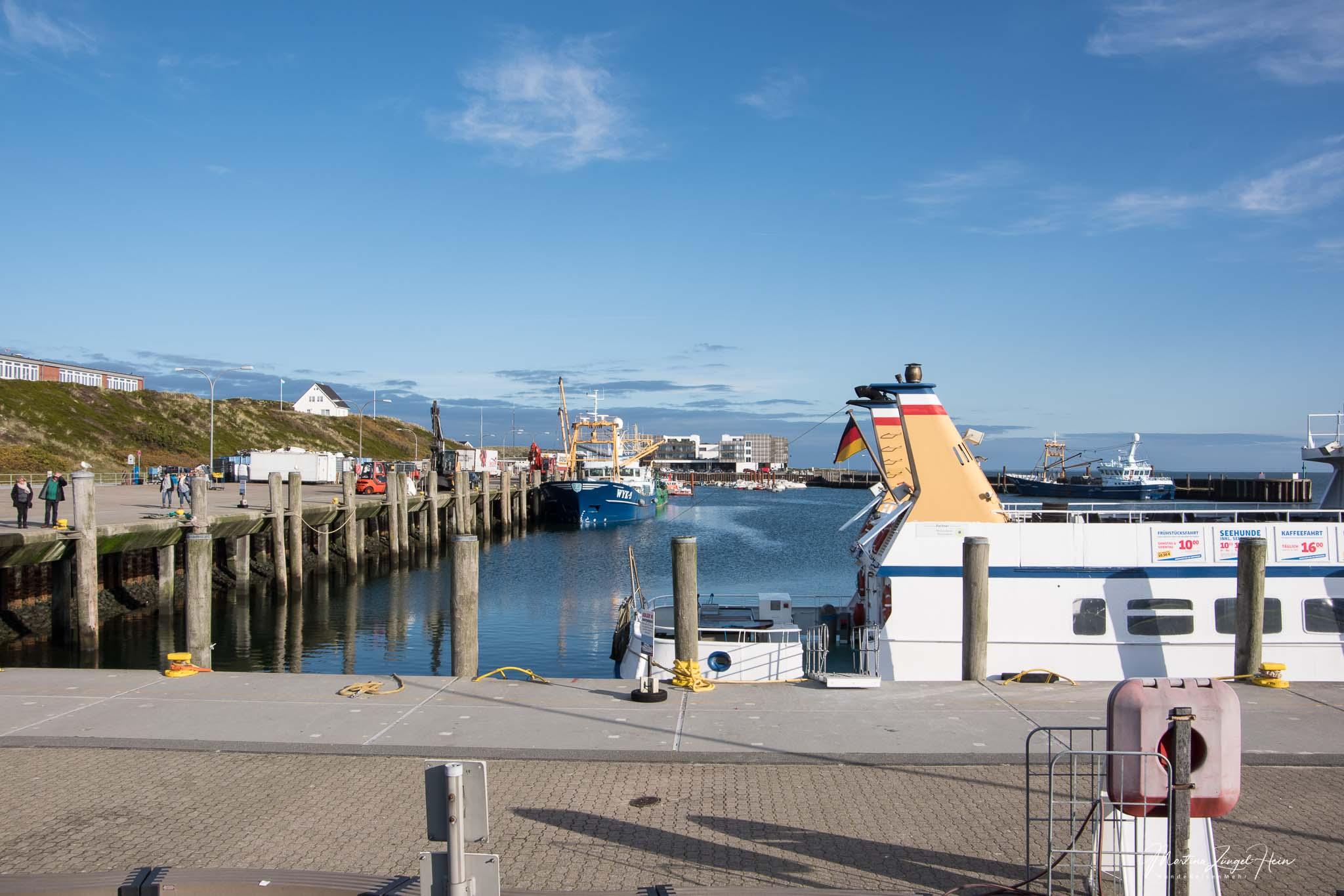 Der Hafen von Hörnum ist Startpunkt der Wanderung