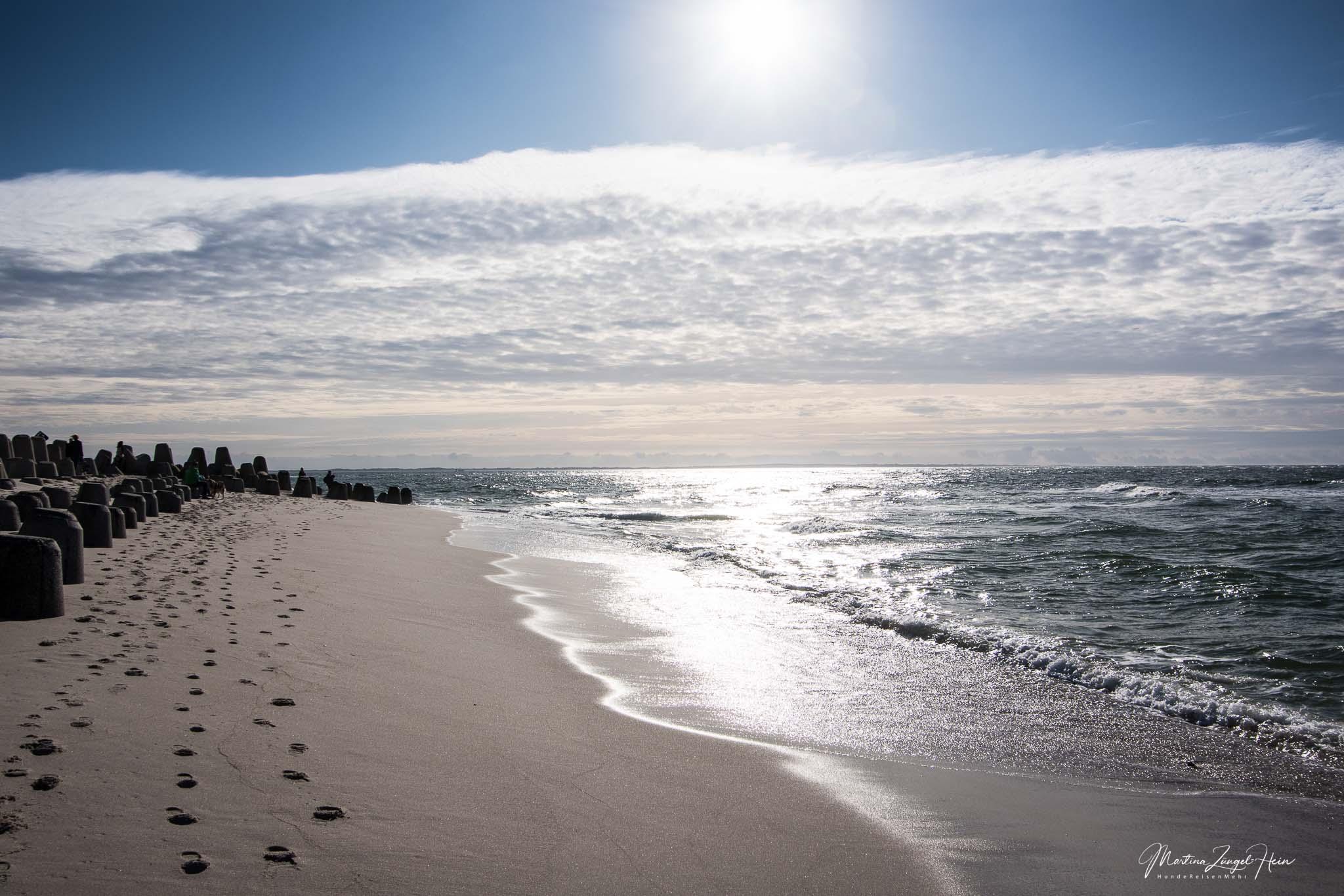 Idyllischer Strand der Hörnum-Odde auf Sylt