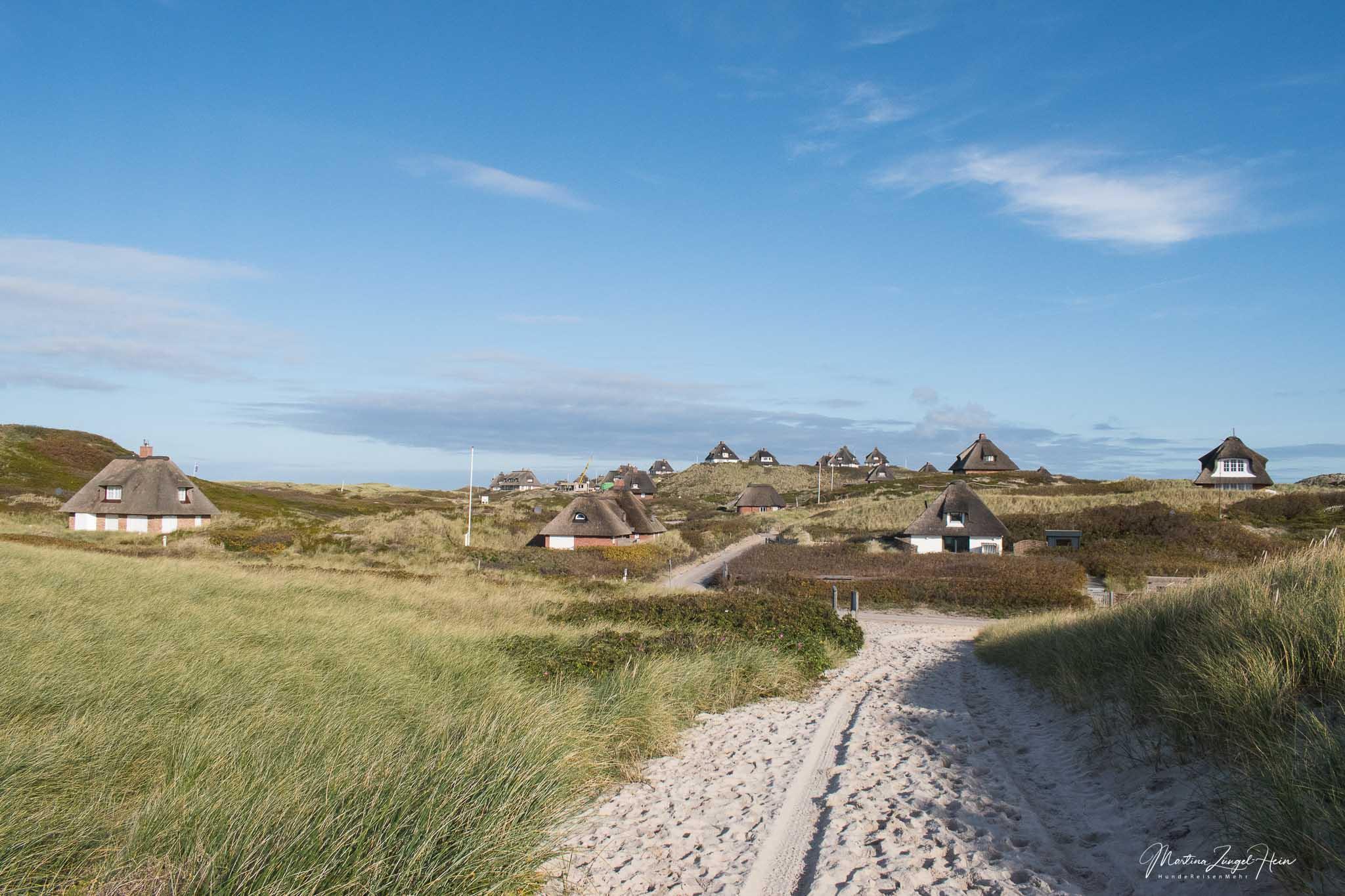 Über die Kersig-Siedlung geht es zur Hörnum-Odde