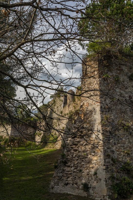 Die Mauer von La Citadelle de Saint-Tropez