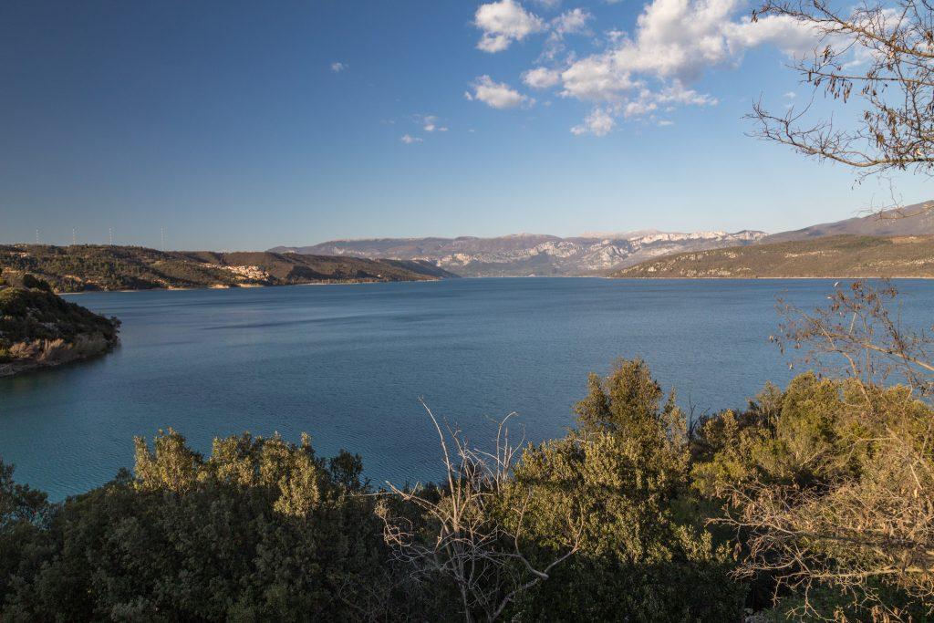 Der Lac de Sainte Croix