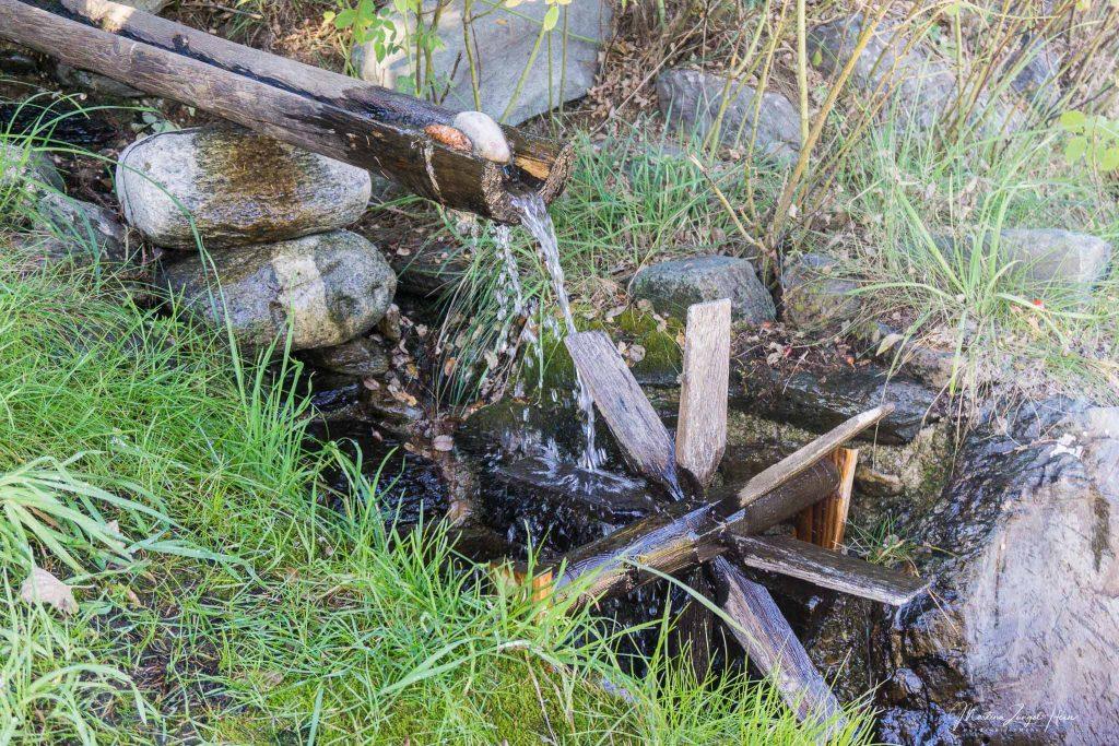 Es klappert das Wasserrad am rauschenden Bach