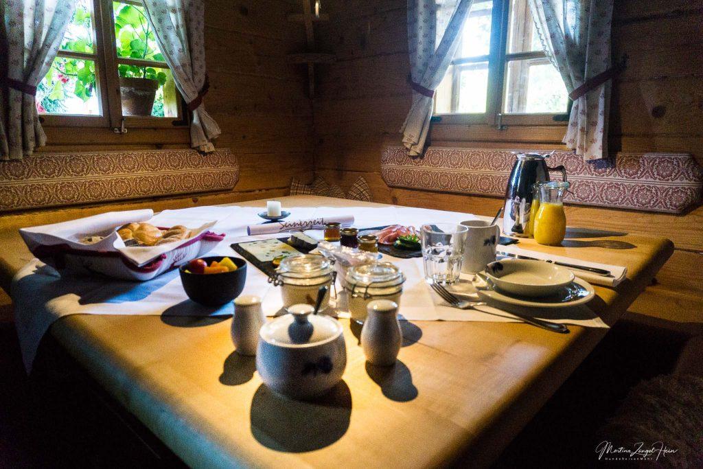 Luxuriöses Frühstück