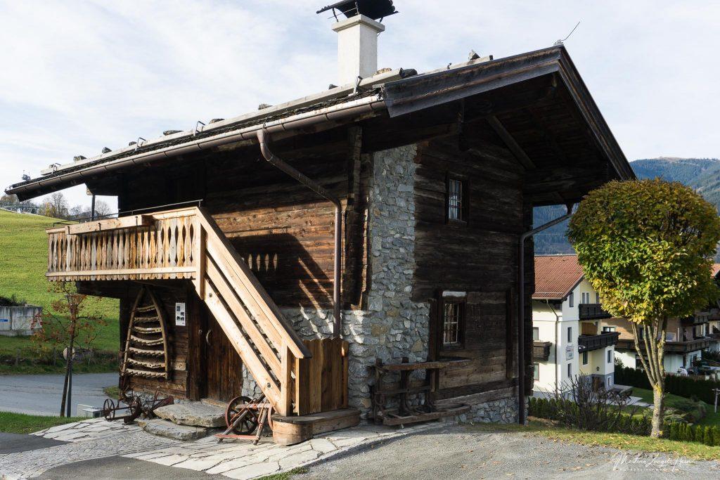 Altes Bauernhaus zur Besichtigung