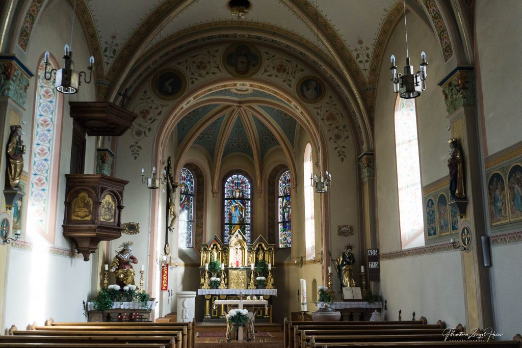 Prächtige Kirche