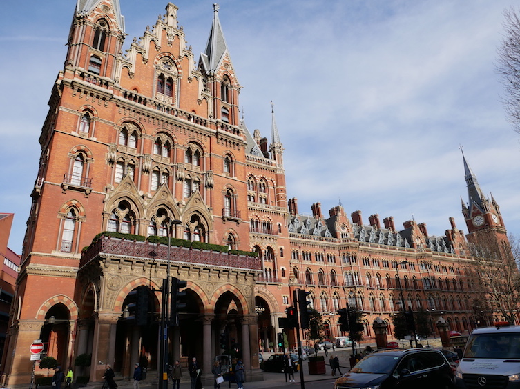 St. Pancreas Station in London