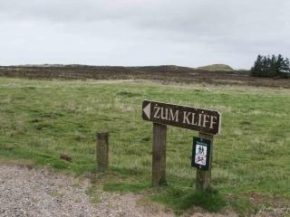 Der Wegweiser zum Morsum Kliff