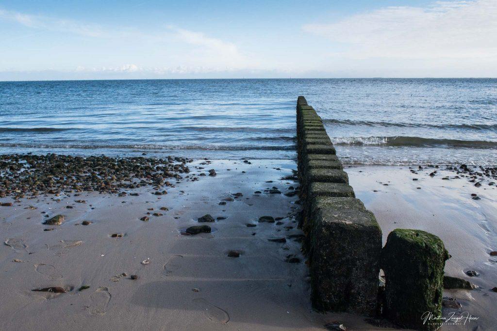 Nordseeidylle bei Ebbe