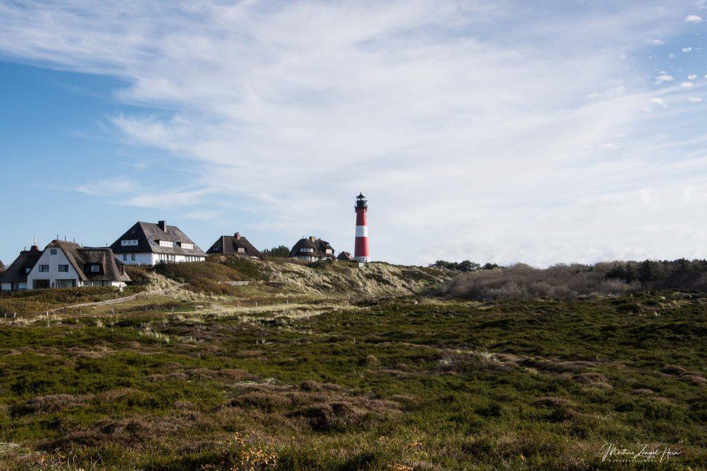 Hörnum grenzt an das Naturschutzgebiet