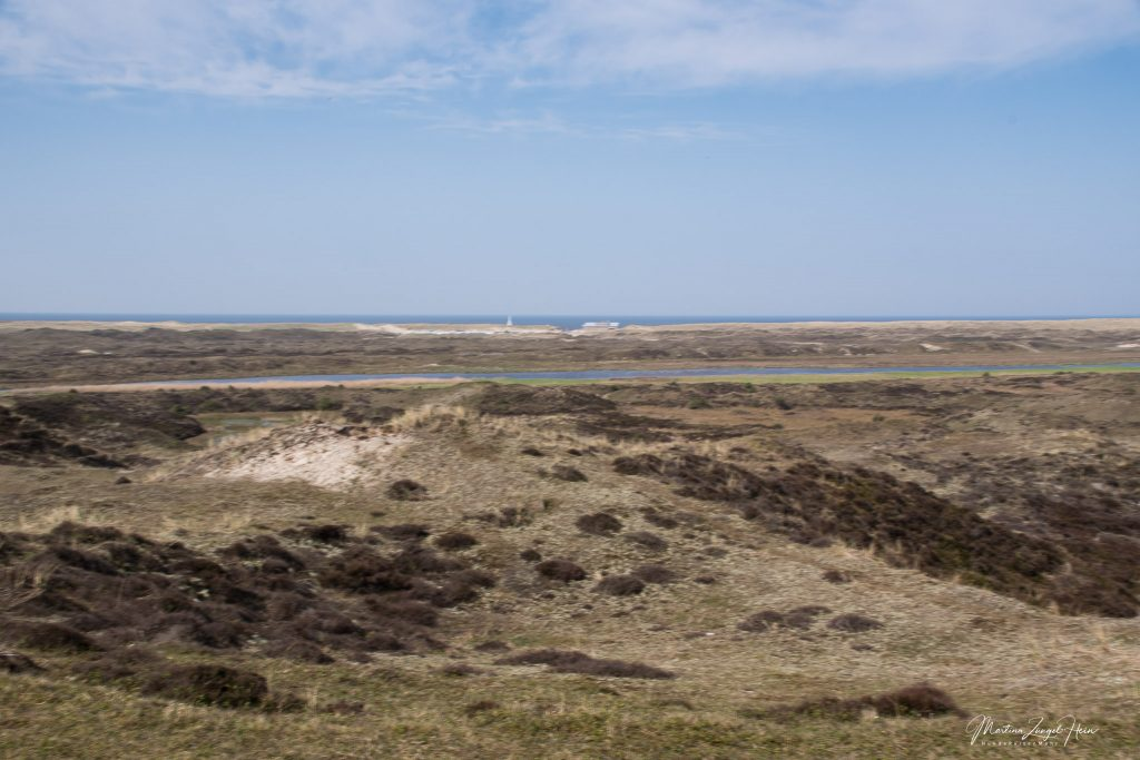 ... über De Bollekamer hinweg bis zur Nordsee.
