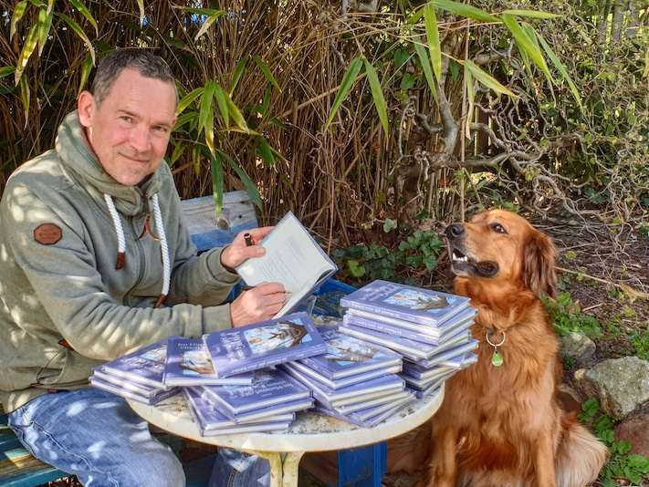 Jando und seine Hündin Sunny I Foto: Jando/Saterland