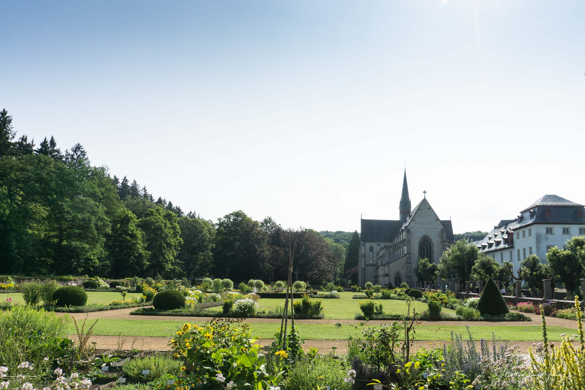 Die Klosterkirche der Abteil wurde ab dem Jahr 1347 gebaut