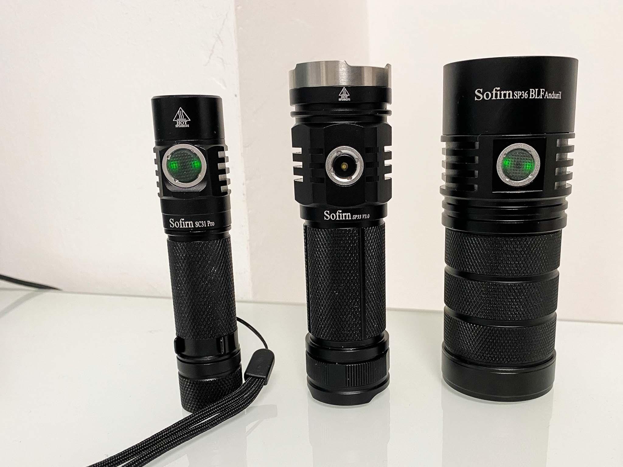Meine 3 Taschenlampen-Favoriten