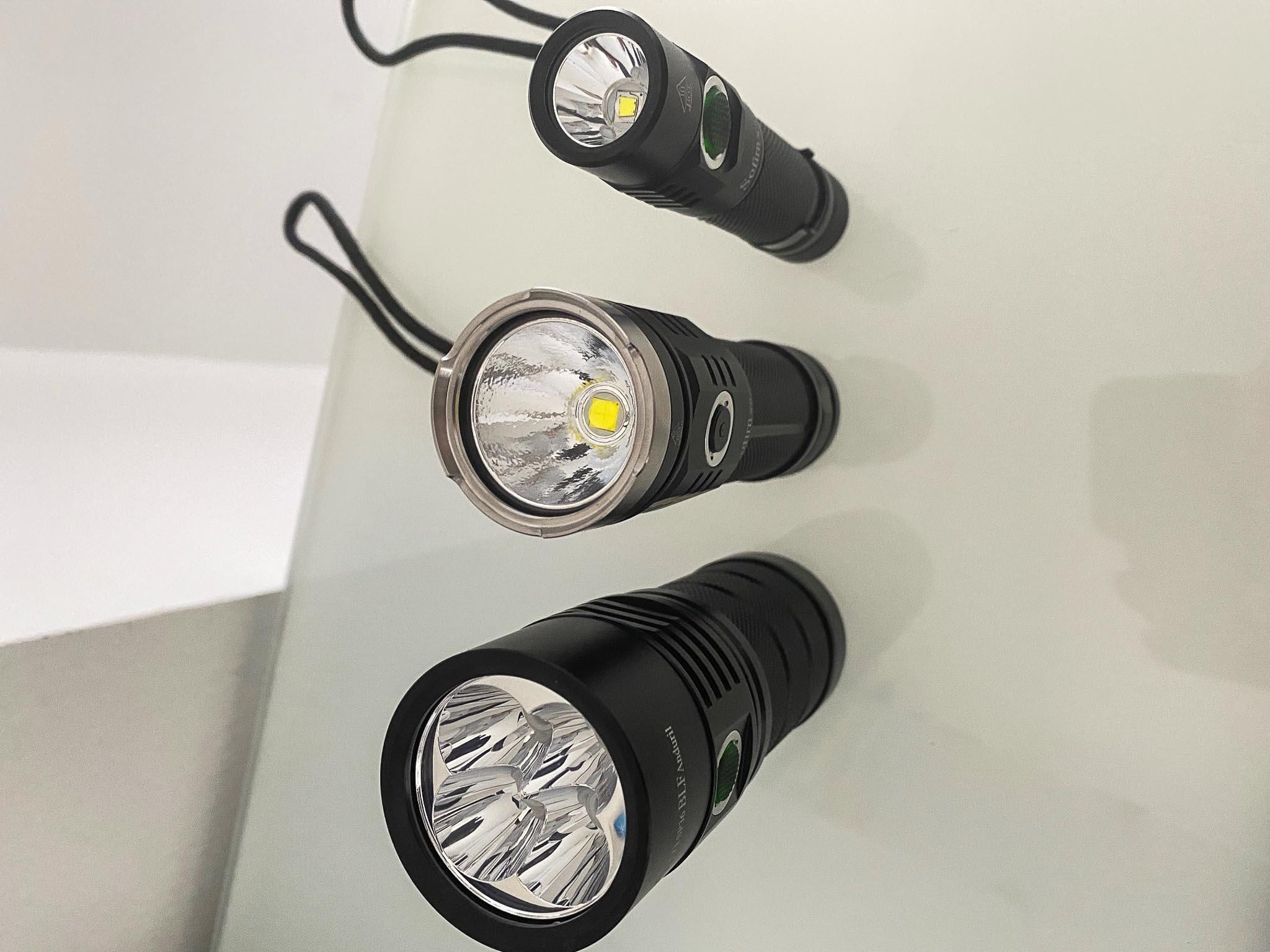 Ich kann die 3 Taschenlampen von Sofirn empfehlen