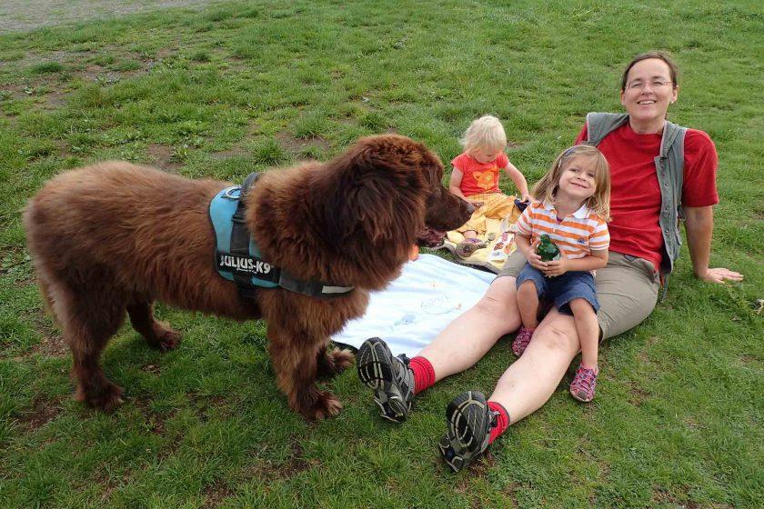 Ingrid und Bathida - Reisen und Wandern mit Hund