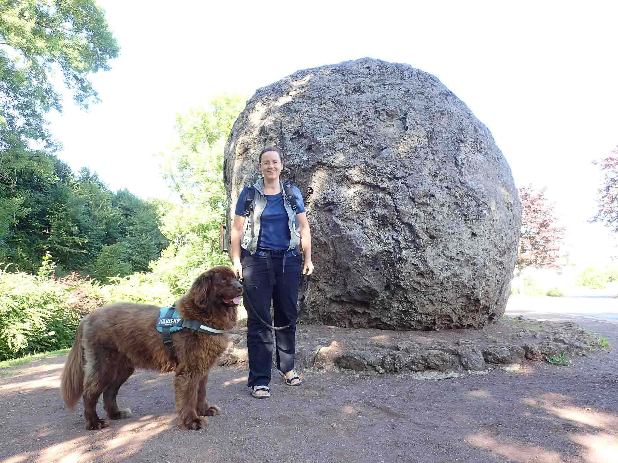 Ein eingeschworenes Wander-Team - Ingrid und Bathida