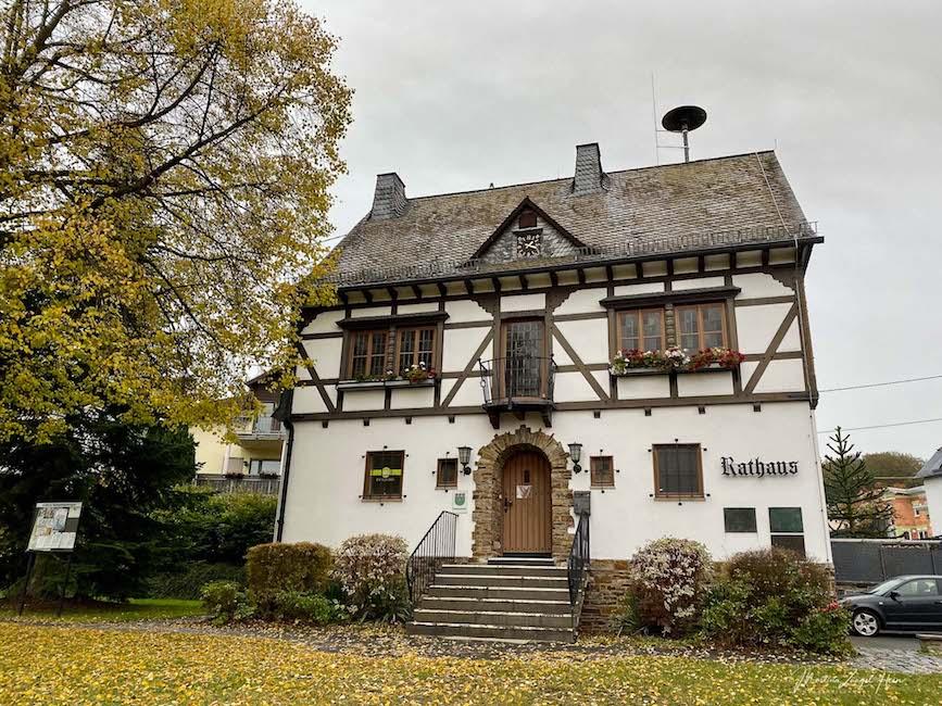 Das Rathaus von Welschneudorf