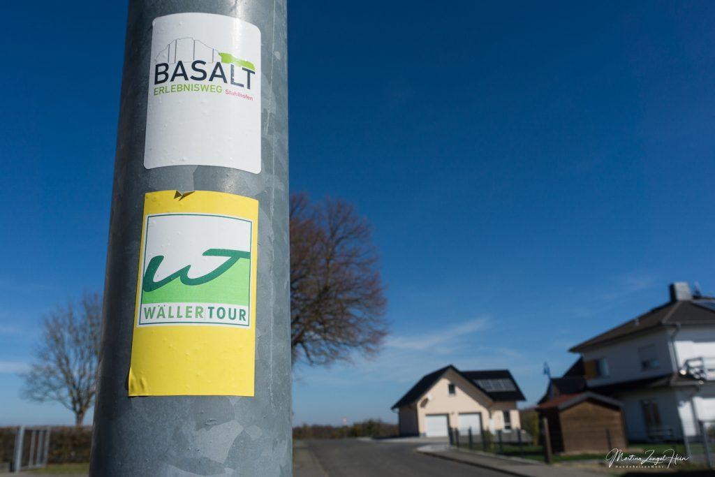 Wäller Tour Basalt-Erlebnisweg auf 4 Pfoten