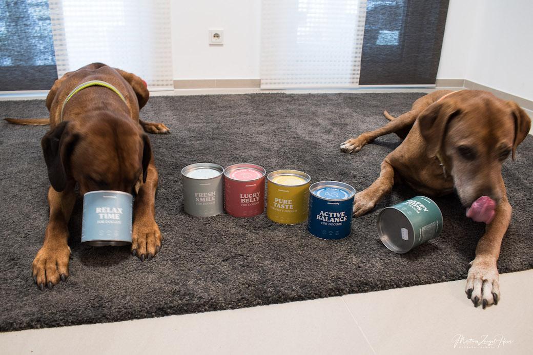 Persönlich getestet - gesunde Hundesnacks von mammaly