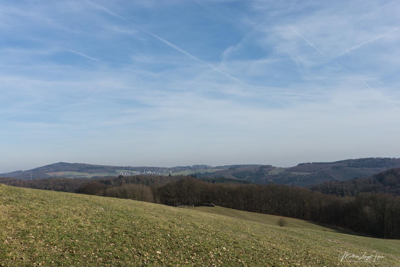 Herrlicher Rundumblick in der Nähe von Hübingen