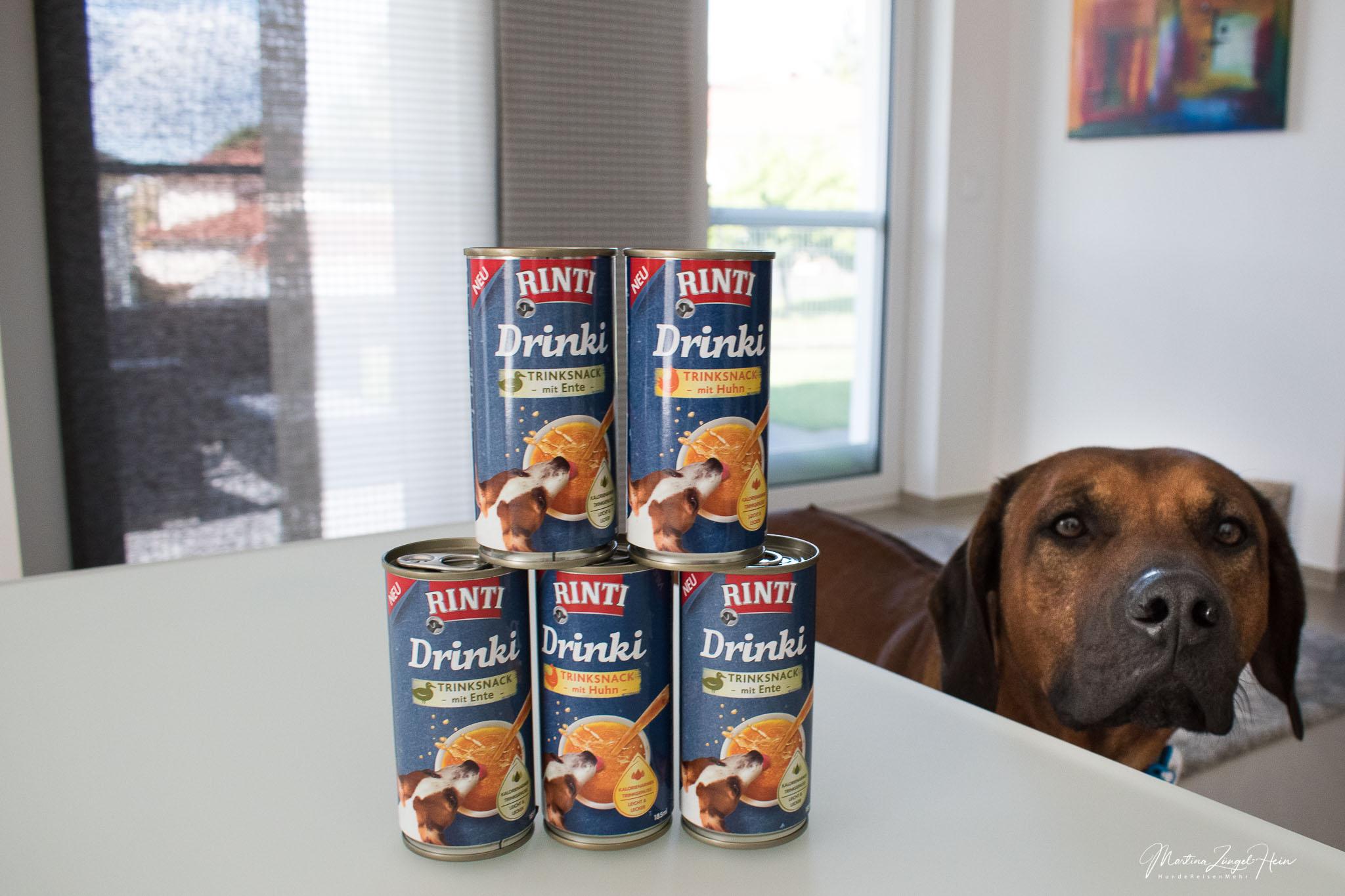 Den neuen Trinksnack für Hunde gibt es in 2 Sorten