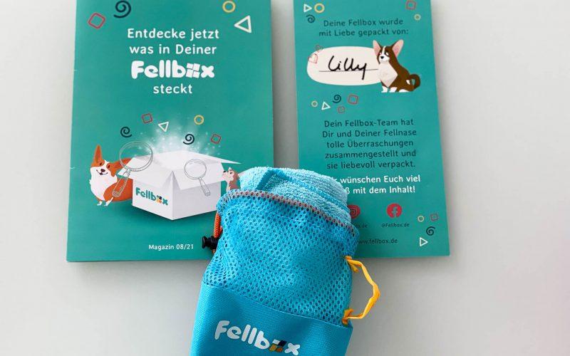 Die Fellbox beinhaltet immer auch eine Broschüre mit der Vorstellung des Inhalts sowie ein Sammel-Goodie