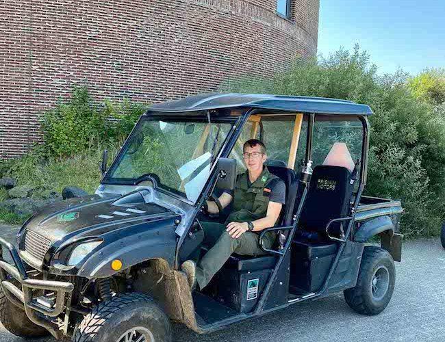 Valentin, unser Guide vom Natuurcentrum Ameland
